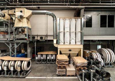 Odsávání papírového odpadu a prachu_CIPRES_09