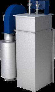 Odsávací a filtrační zařízení filtr carm V-BF pro pro odprášení redlerů, pásových dopravníků a elevátorů