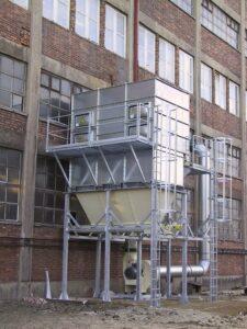 Odsávací zařízení CARM GH-ZLD na výbušný prach