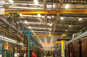 Odsávání robotických pracovišť