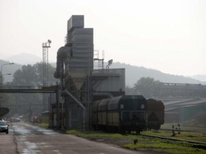 Odsávání uhelného prachu
