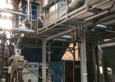 filtrace kouře tavících pecí