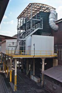 filtrace uhelného prachu