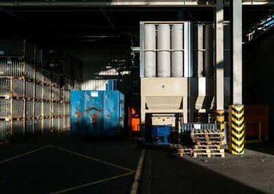 filtrace v dřevozpracujících provozech