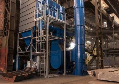 filtrace vzduchu v průmyslovém provozu