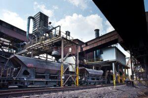 odprášení a filtrace uhelného prachu