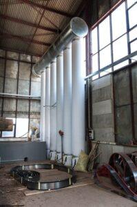 odprášení průmyslových hal
