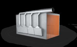 odsávací kabiny pro vzduchotechnický systém