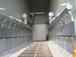 odsávací potrubí pro potravinářskou výrobu