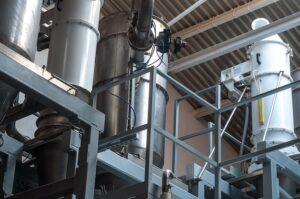 odsávání prachu pro potravinářské výroby