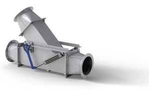 přepínací klapky pro vzduchotechnický systém