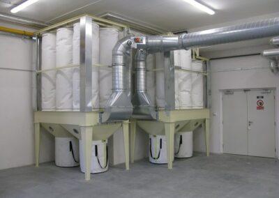 průmyslové filtrační zařízení na míru