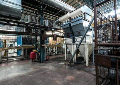 průmyslové odsávání a filtrace vzduchu