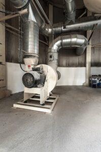 průmyslové radiální vzduchové ventilátory pro transport vzduchu