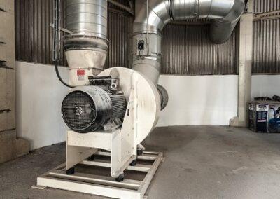 průmyslové radiální vzduchové ventilátory