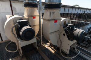průmyslové transportní ventilátory pro dopravu vzduchu