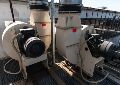 průmyslové transportní ventilátory