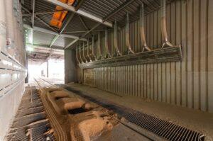 průmyslové vertikální odsávací digestoře pro odsávání prachu