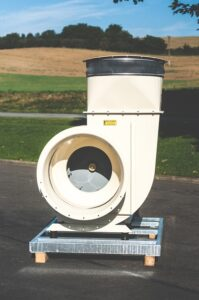 průmyslové vzduchové ventilátory pro transport vzduchu