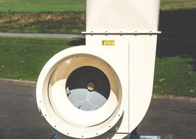 průmyslové vzduchové ventilátory