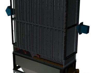 průmyslový rekuperátor spalin