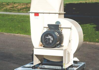 radiální transportní ventilátory
