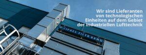 Wir sind Lieferanten von technologischen Einheiten auf dem Gebiet der Industriellen Lufttechnik