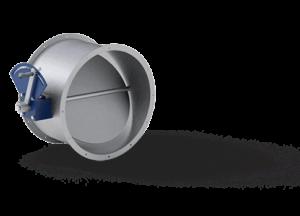 uzavírací klapky pro vzduchotechnický systém
