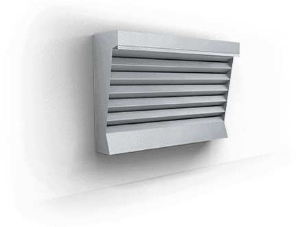 Vertical exhaust hoods