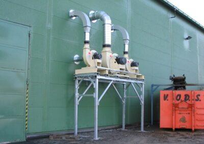 výkonné transportní ventilátory
