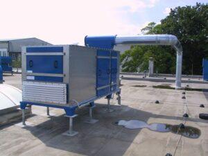 výkonné vzduchové ventilátory pro transport čistého vzduchu