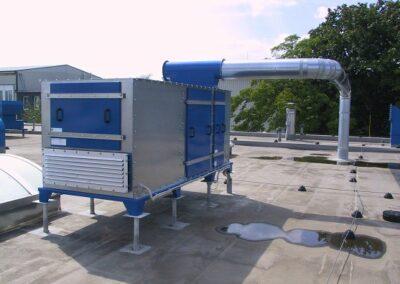 výkonné vzduchové ventilátory