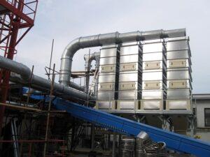 Odprášení kotlů na biomasu