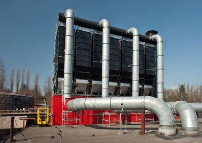 filtrační zařízení pro železárny