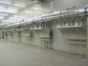 Odsávání kouře ve svařovnách CIPRES