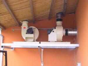 Cipres průmyslová ventilace